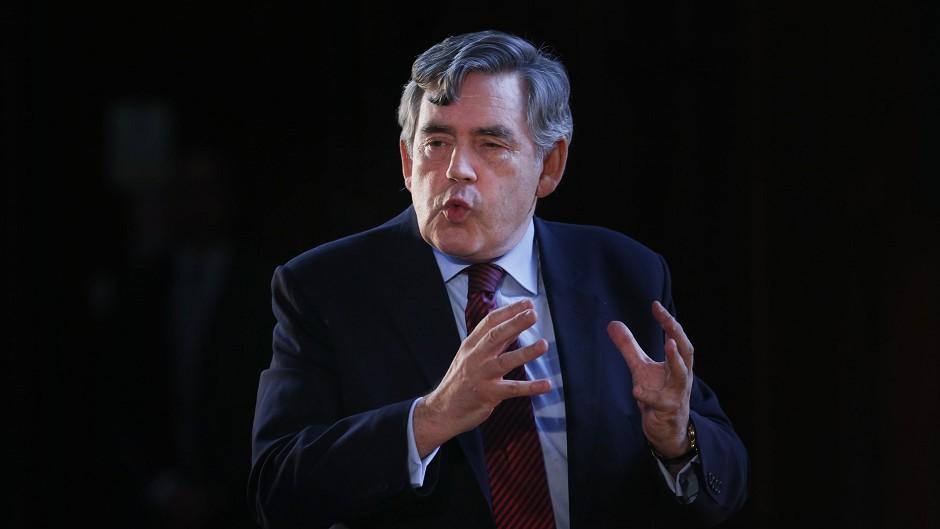 Former prime minister Gordon Brown has praised a Motor Neurone Disease campaigner
