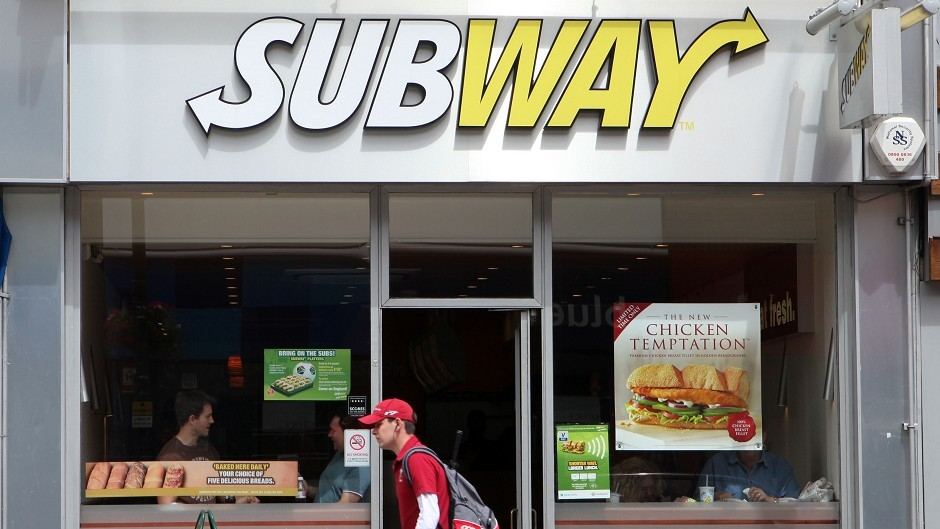 Subway is coming to Peterhead