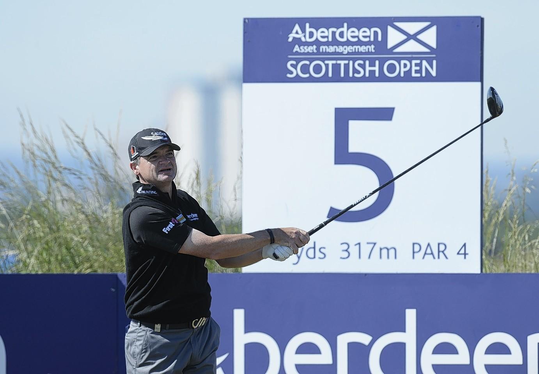 Paul Lawrie at the Scottish Open