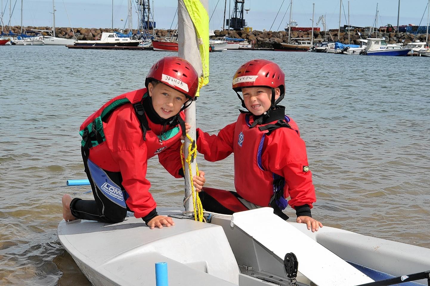 Peterhead sailing