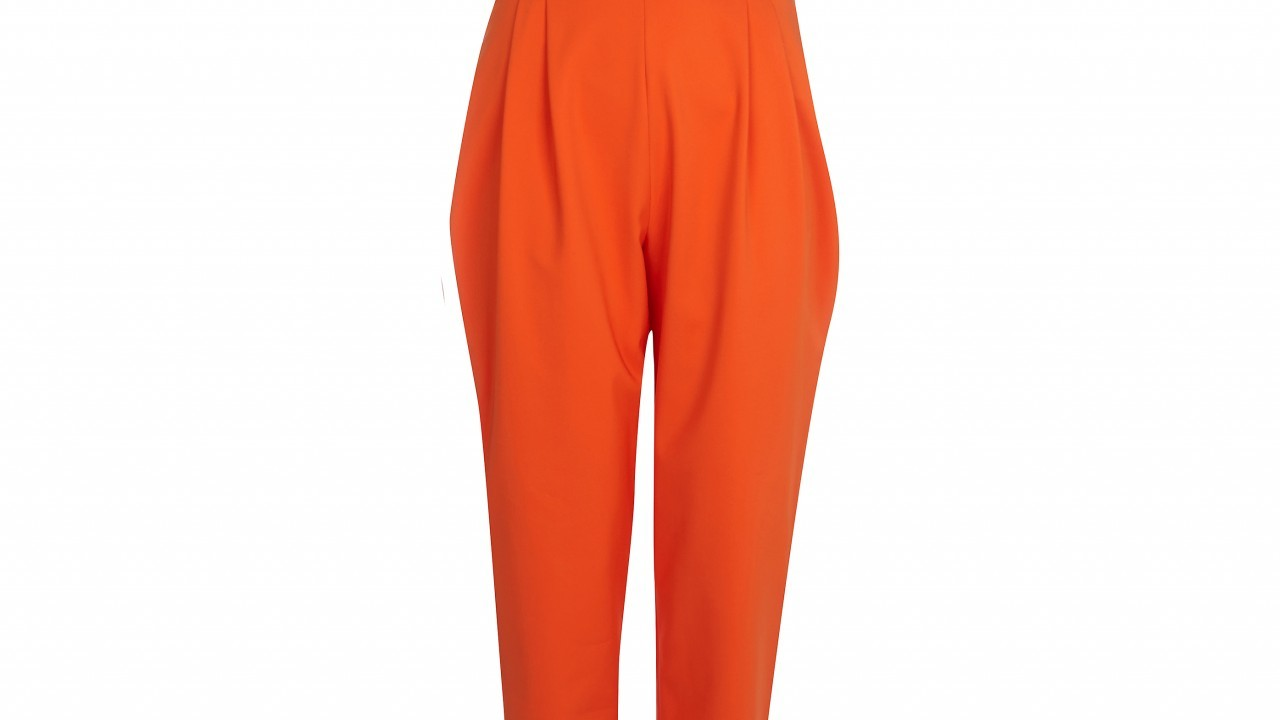 River Island orange bandeau jumpsuit, £55, Bon Accord & St Nicholas