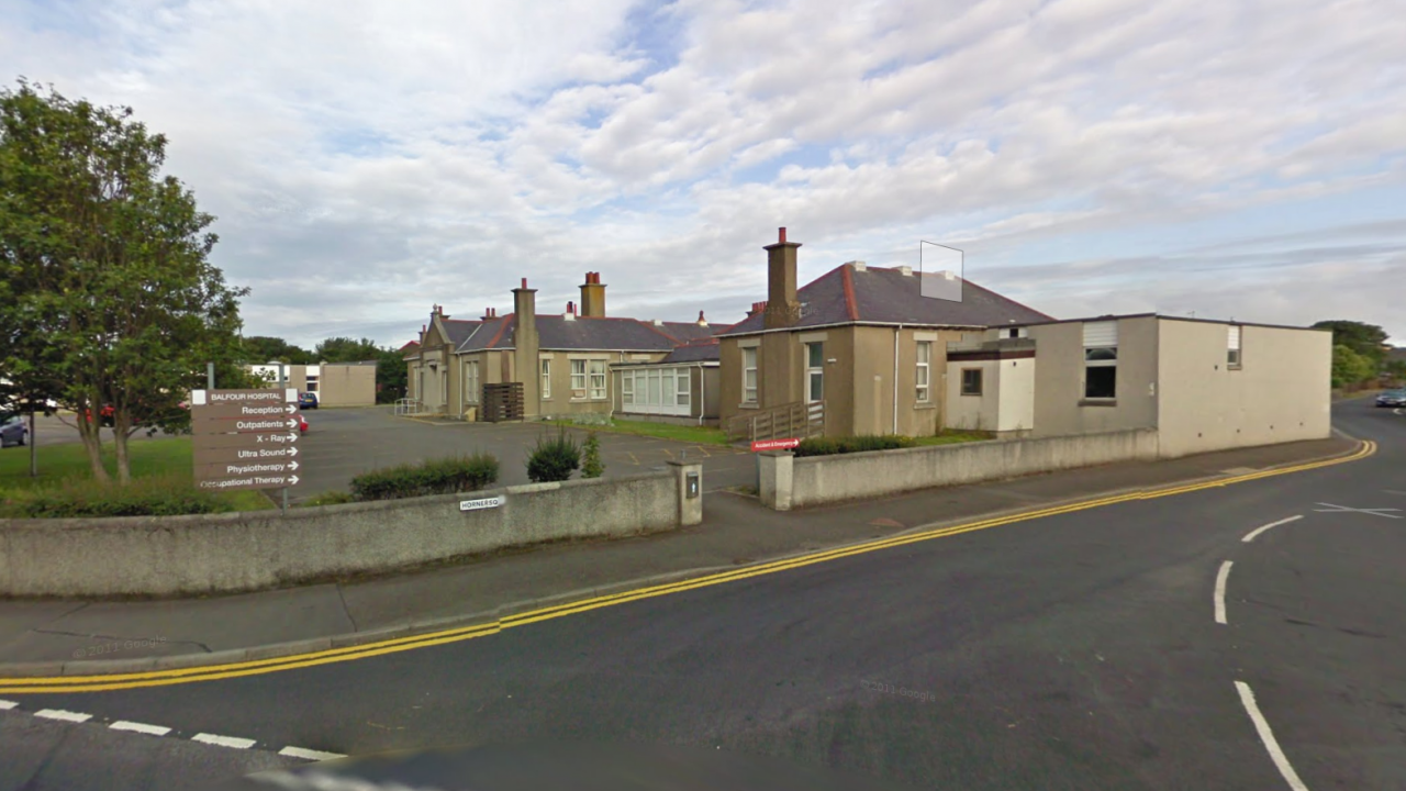 The Balfour Hospital in Kirkwall