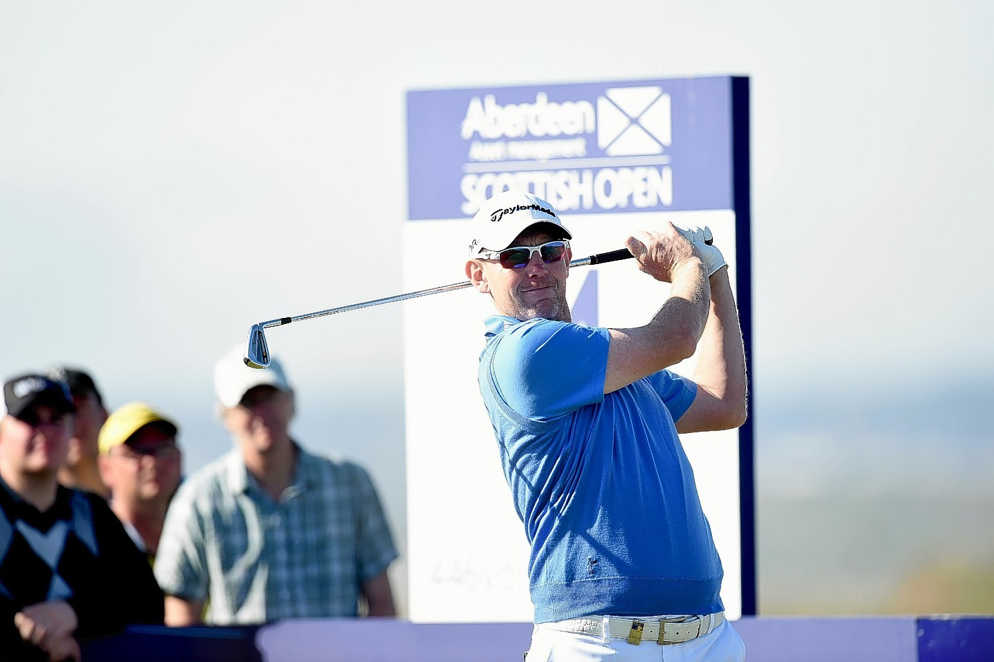 Stephen Gallacher at the Scottish Open