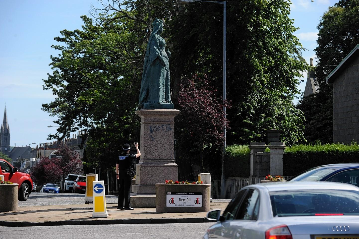Queen's Cross in Aberdeen