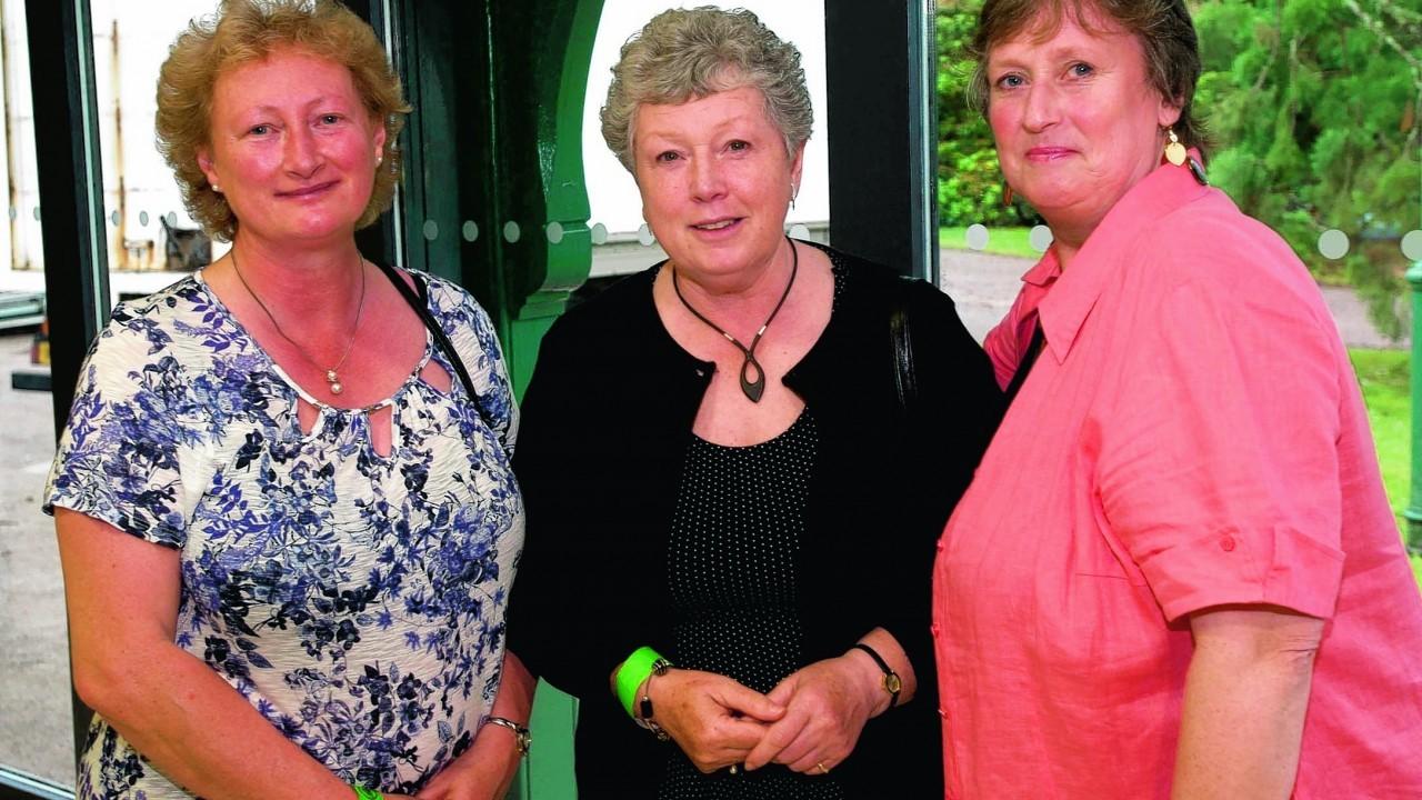 Jane Loveland, Pam Clark and Eleanor Cantlay.