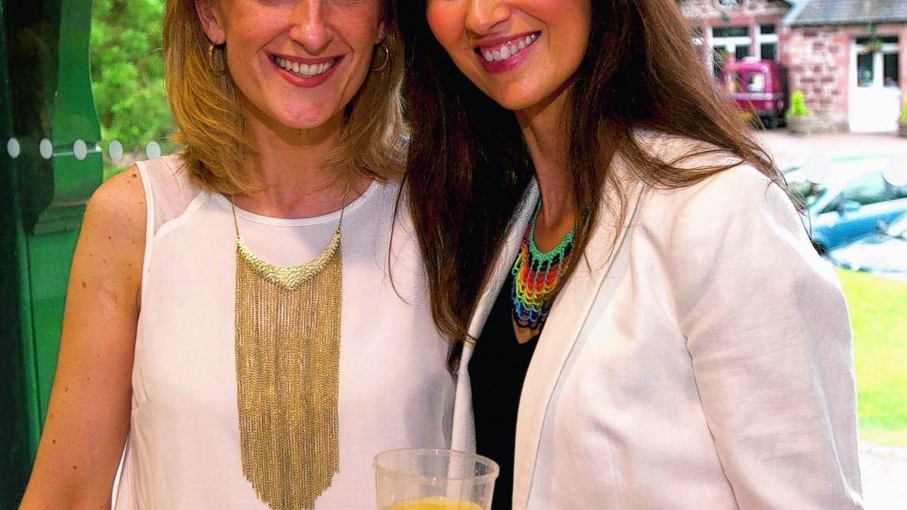 Julie Lumsden with Elaine Barbour.
