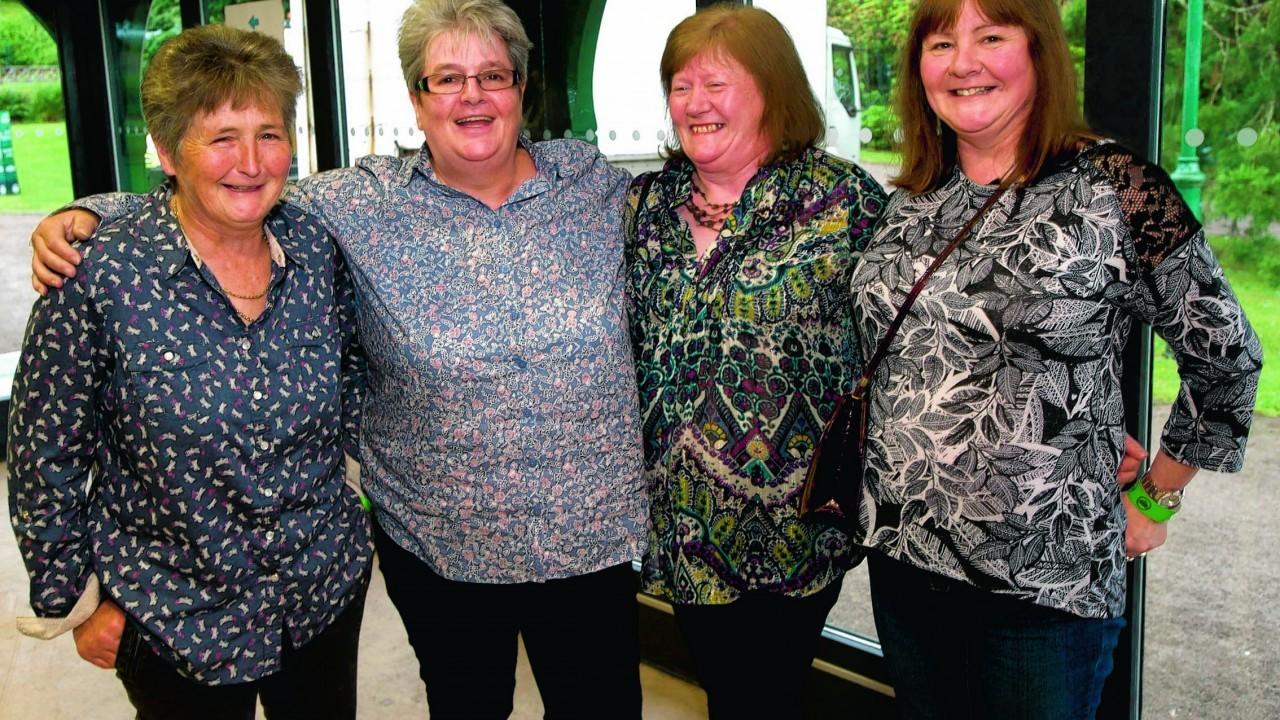 Liz MacBeath, Julie Ross, Heather Silowronski and Rosemary Paton.