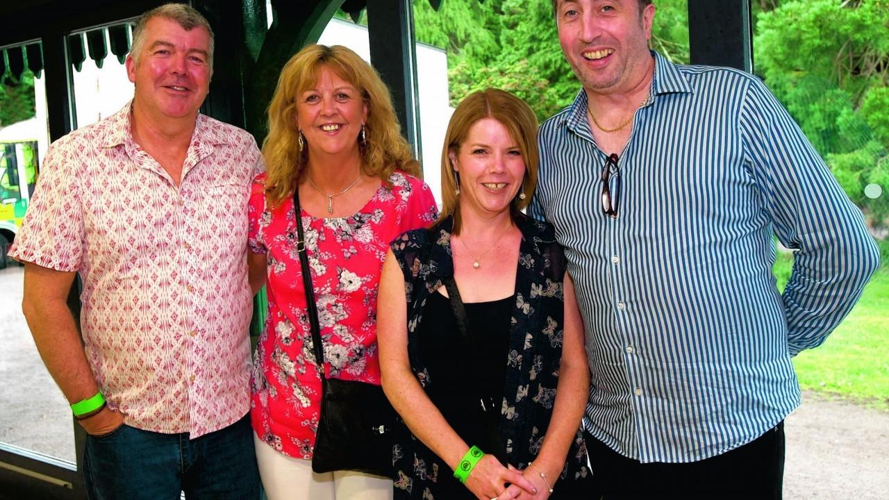 Graham Duncan, Sandra MacKenzie, Julie Ross and Billy Grant.