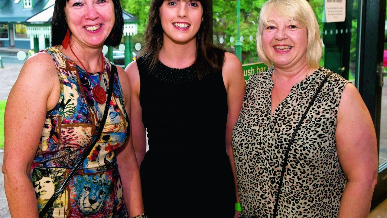 Irene Shanks, Carina Deas and Caroline Thomson.