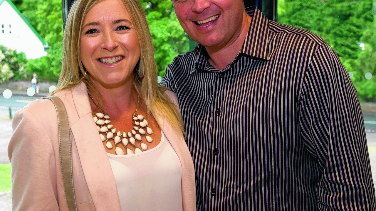 Karen Miller and Colin Wallace