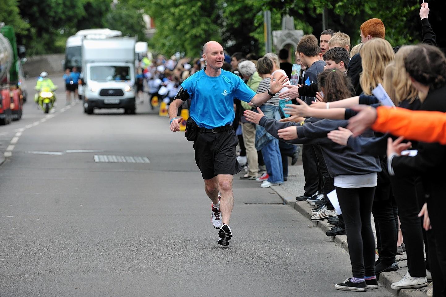 The Baton makes its way through Moray