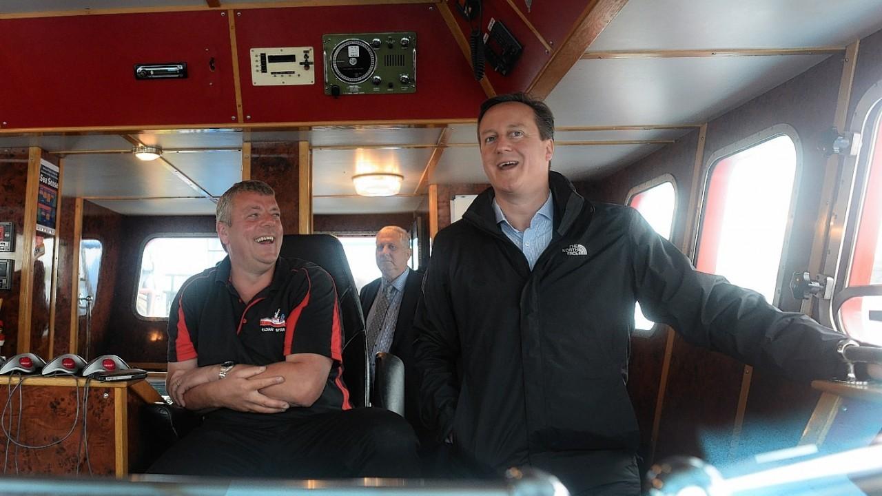 David Cameron in Shetland