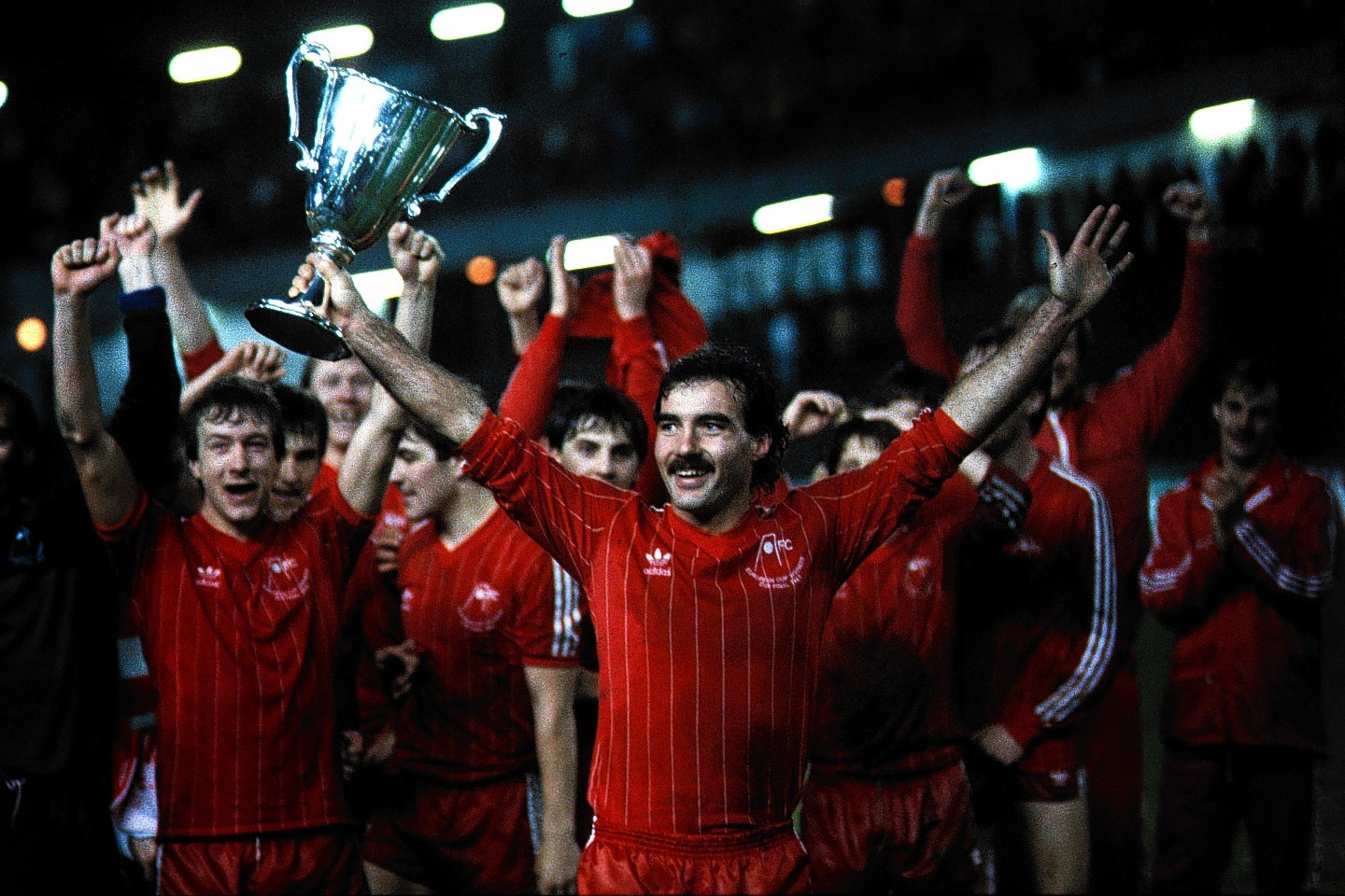 Accountant Bruce Edmond is appealing for help to find his signed Gothenburg top.