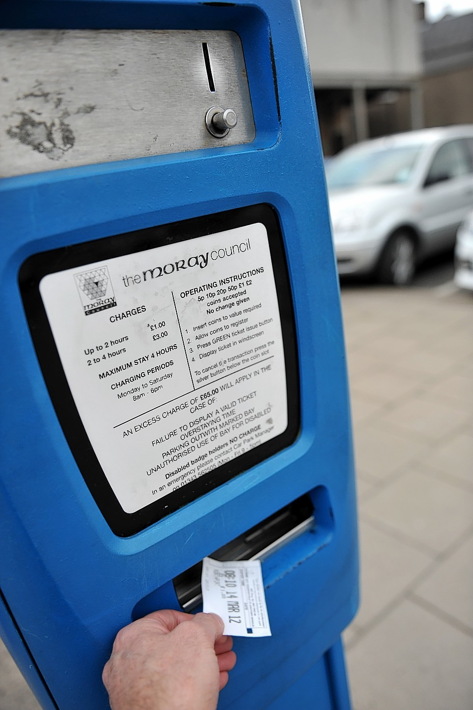 Calls have been made for parking charges to be scrapped