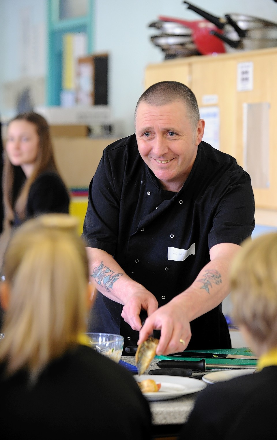 Pupils throughout Scotland took part in the seafood-focused workshops