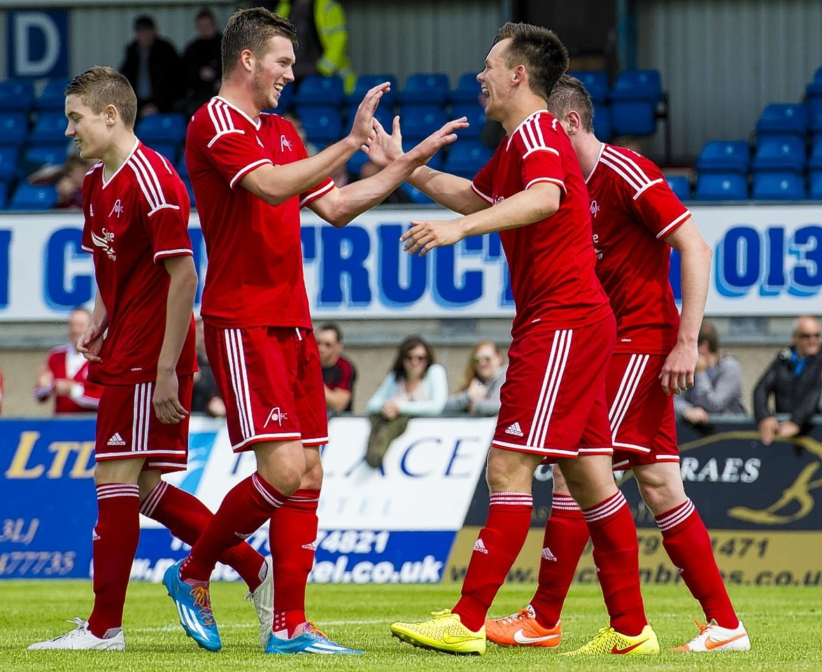 Lawrence Shankland scored the only goal of the game