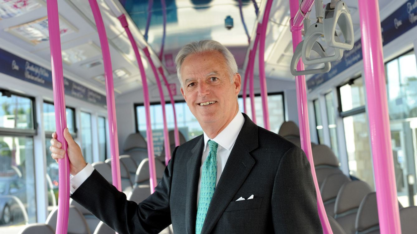 FirstGroup chief executive Tim O'Toole