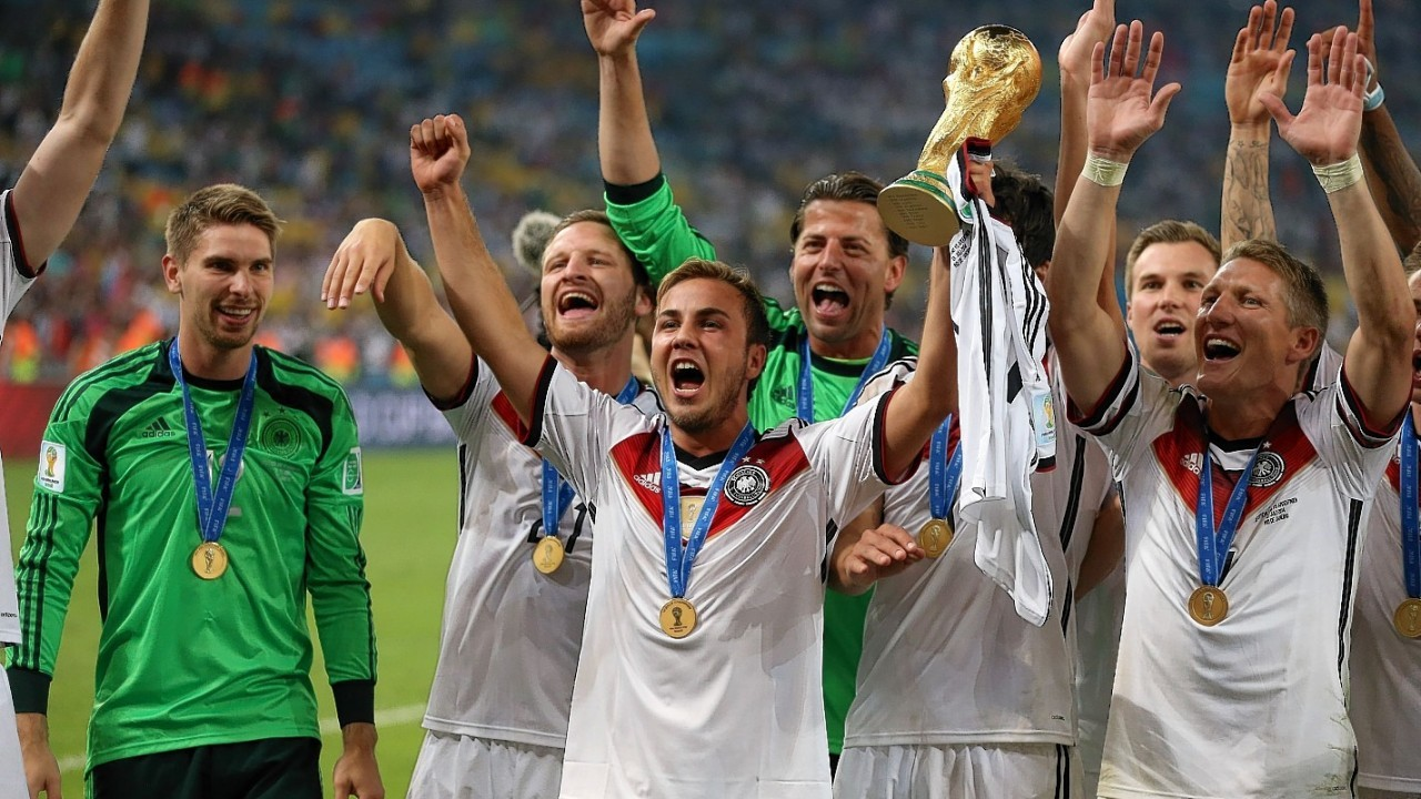 Germany experience victory at the World Cup final