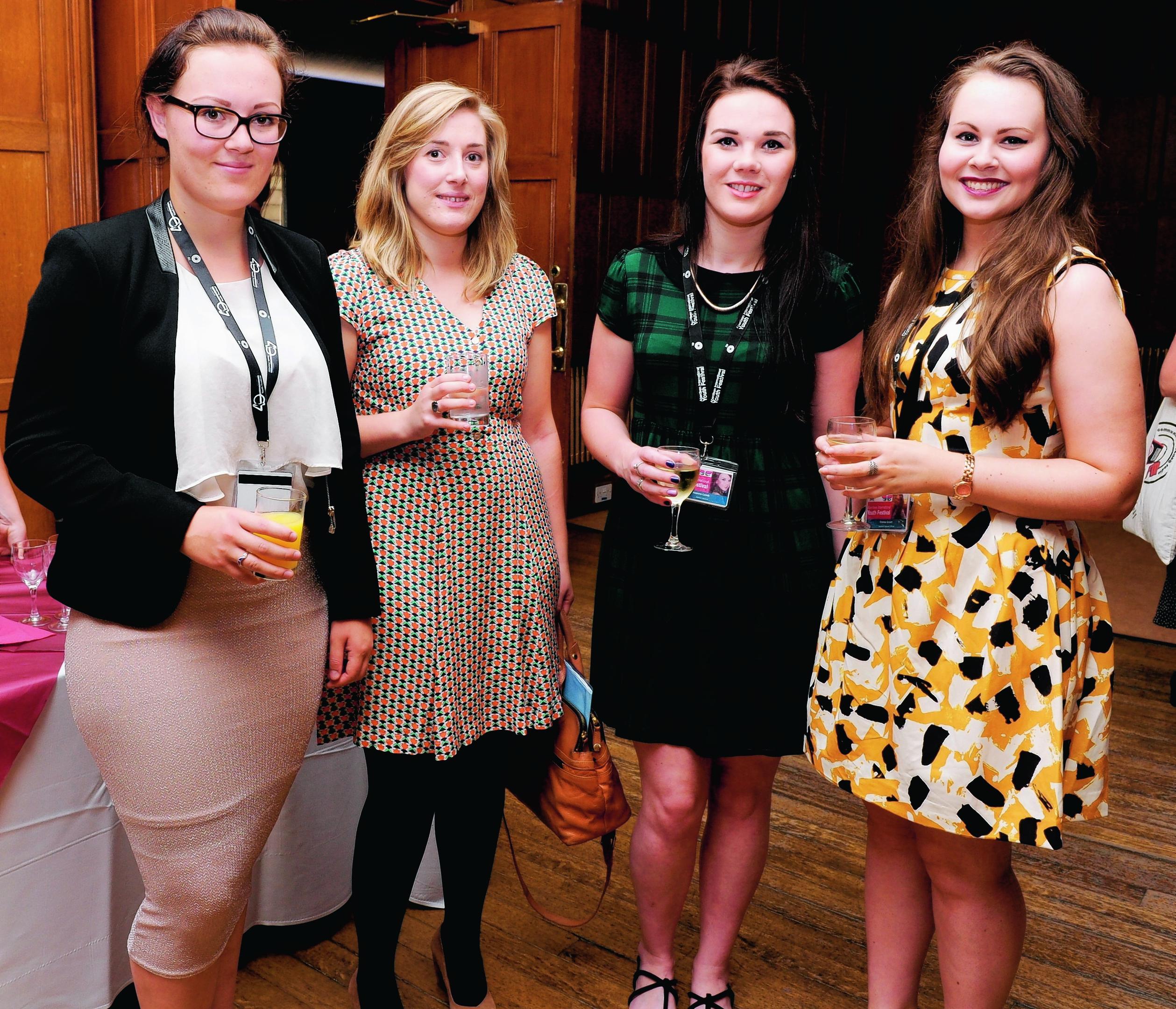 Emma Wilson, Christine Halsall, Joanne Lamb and Emma Grant  .