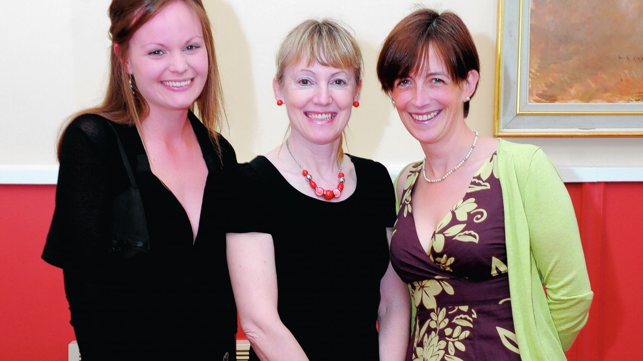 Lucy Brown, Karen Connolly, and Jill Woods.