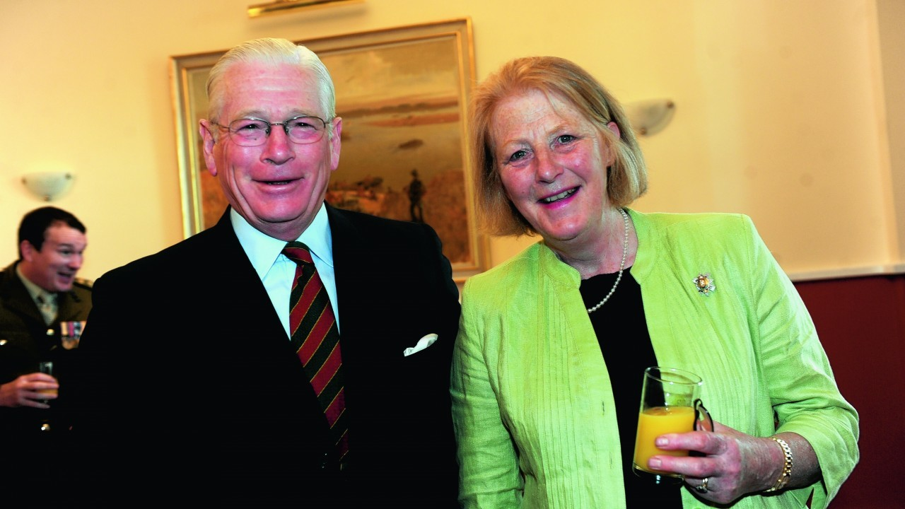 Lady Nicola Irwin, and Sir Alistair Irwin.