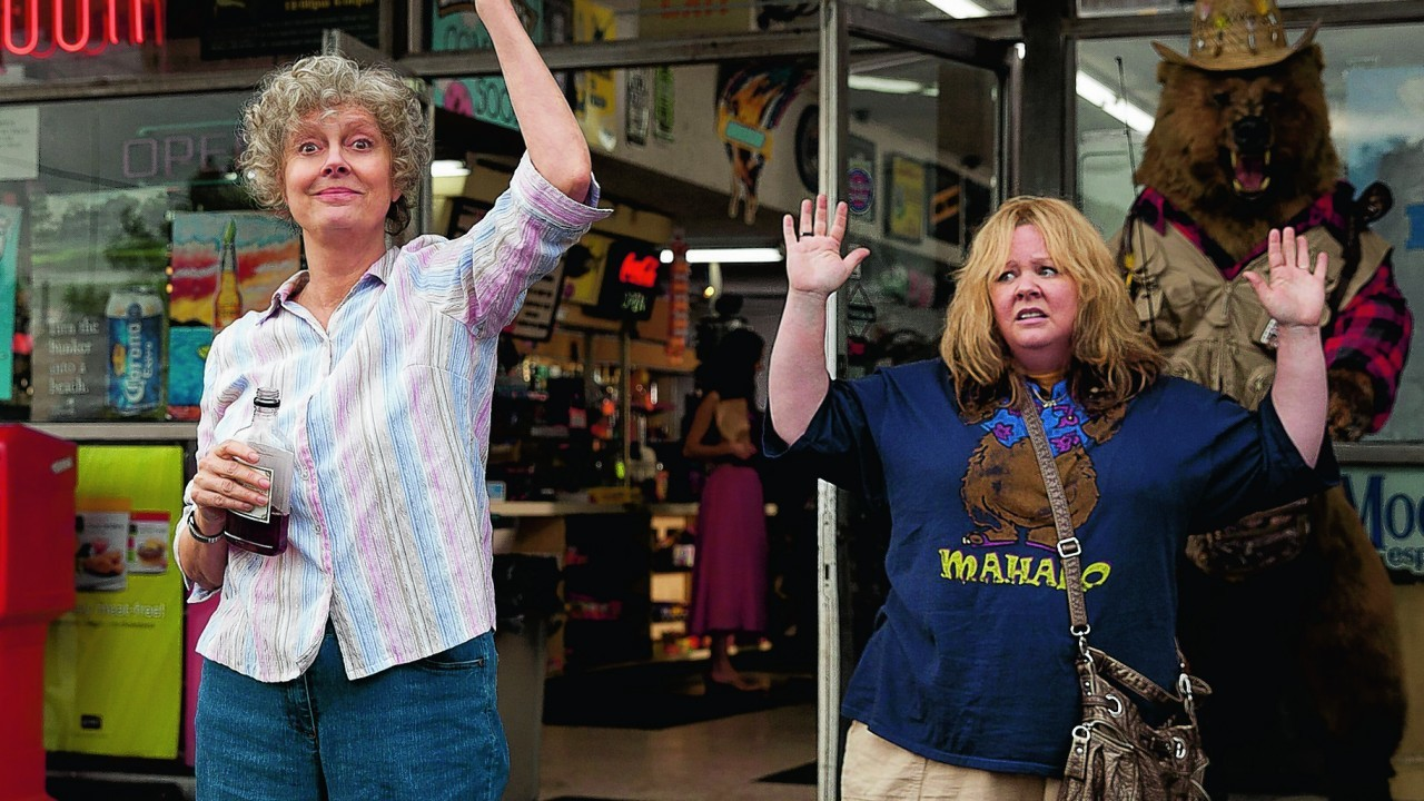 Susan Sarandon and Melissa McCarthy in a scene from Tammy