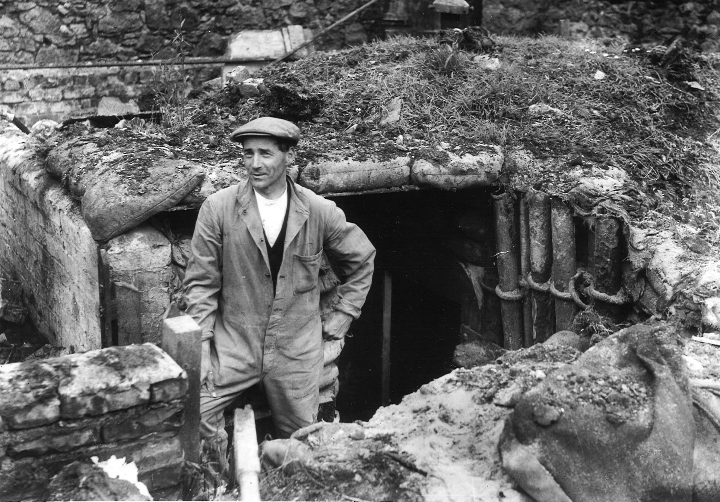 Bomb damage in Peterhead, 10 August 1941