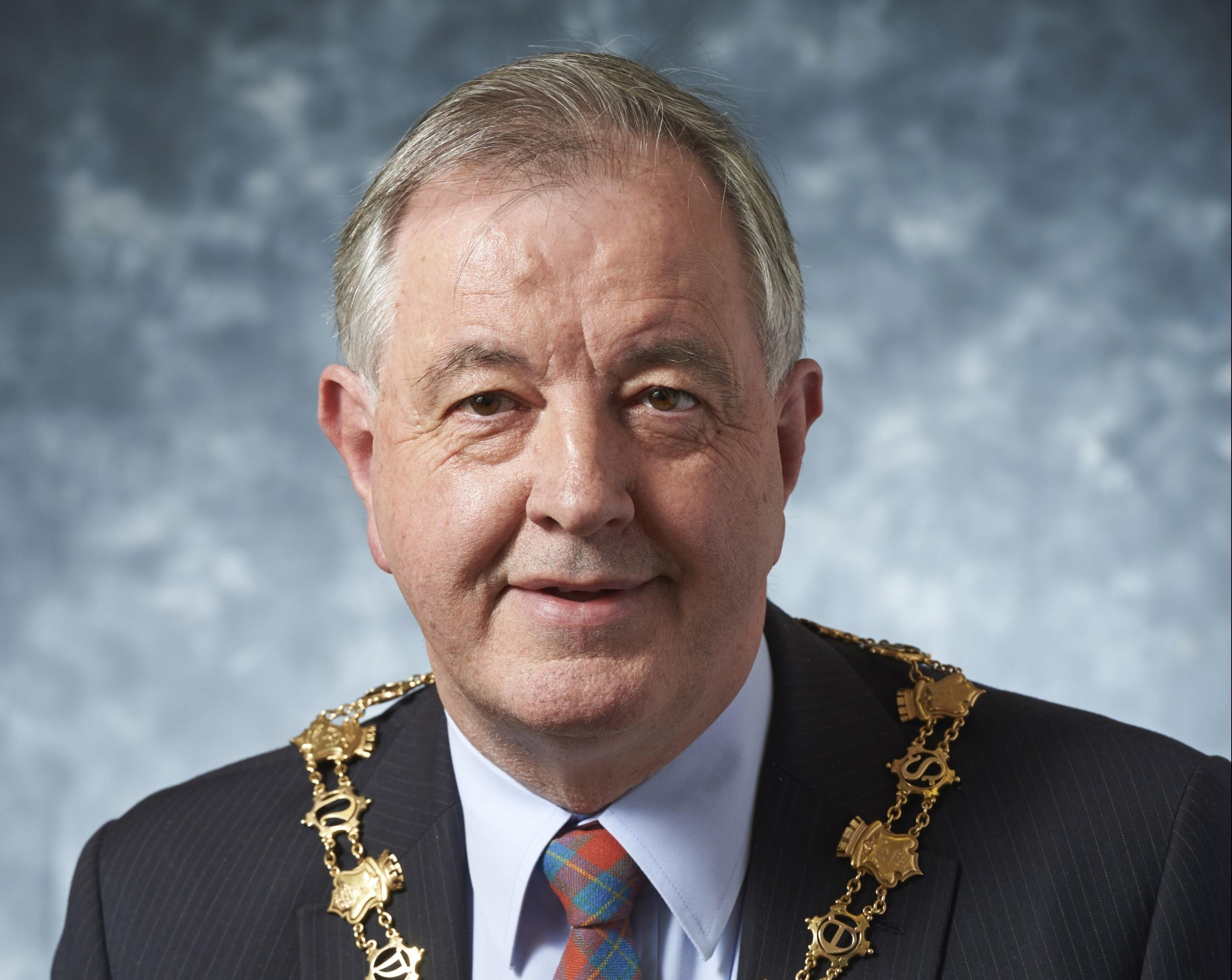 Inverness councillor Alex Graham