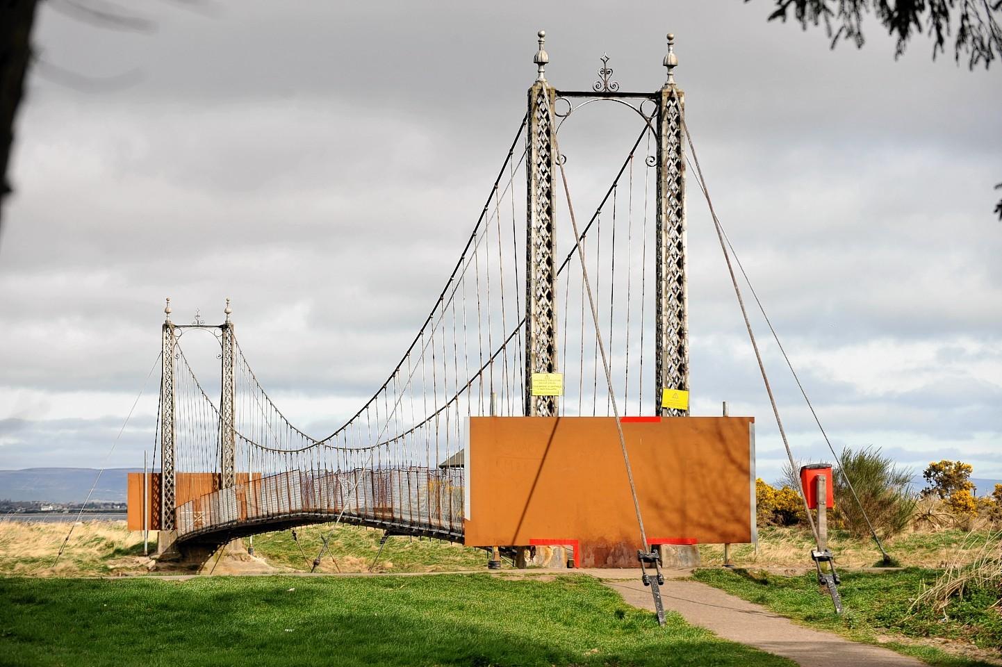 The Alexandra Bridge in Tain