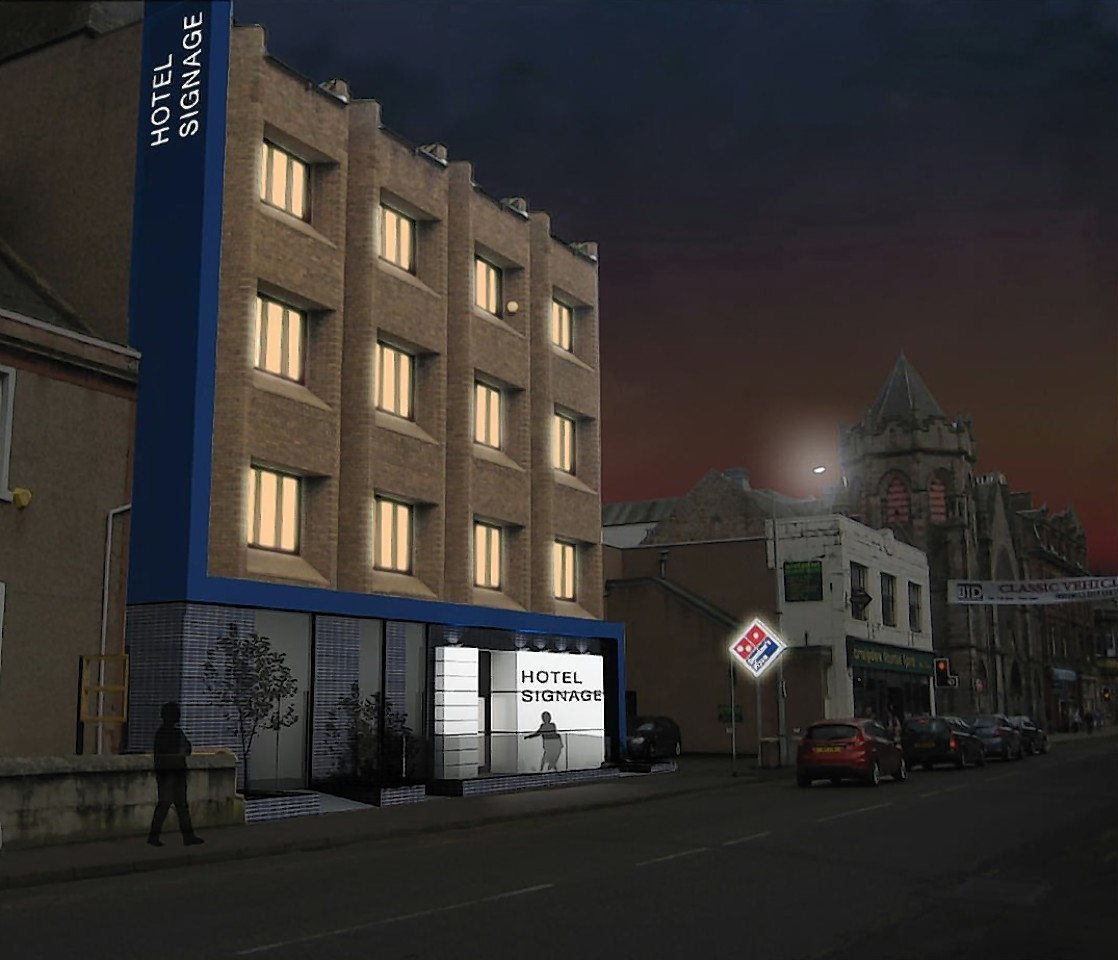 Artist impression of how the hotel could look