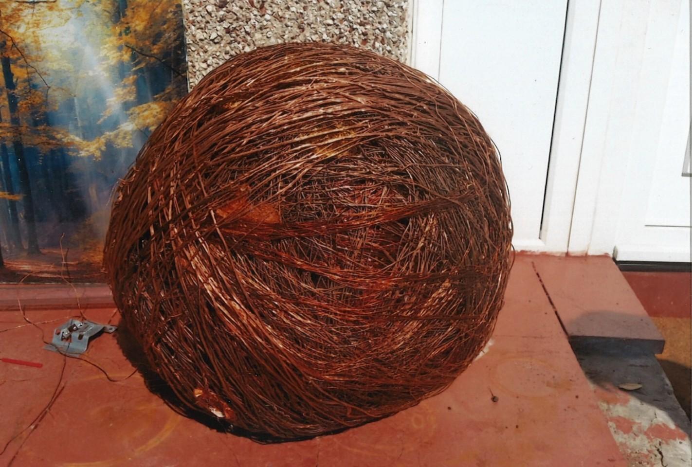 Brian Henderson's ball of copper