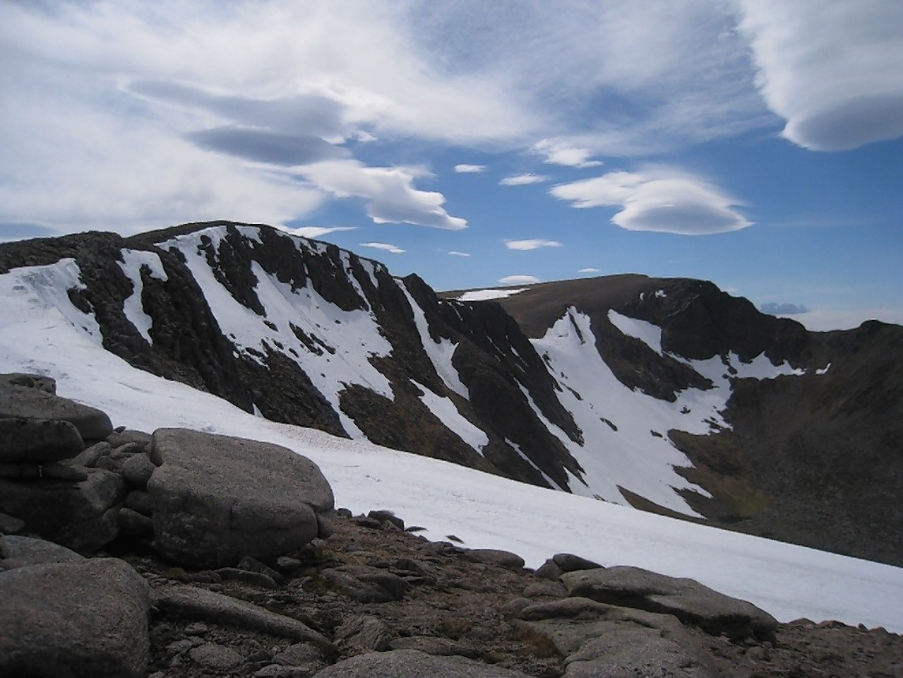 The accident happened in Coire an Sneachda in the Cairngorms. Picture by Neil Reid