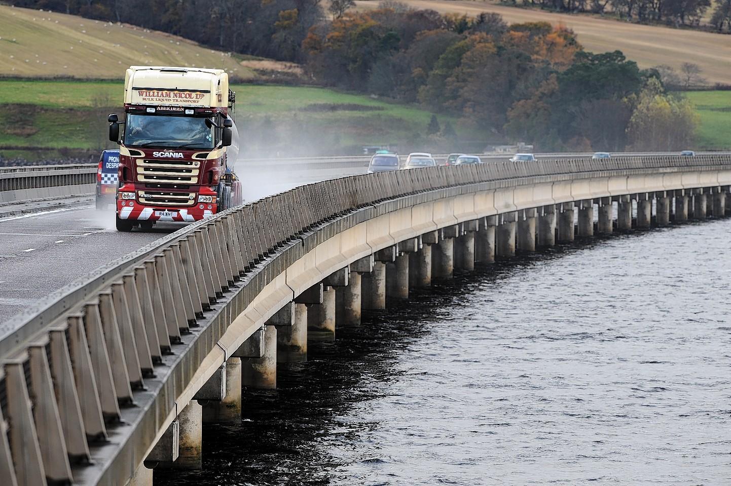 The Cromarty Bridge