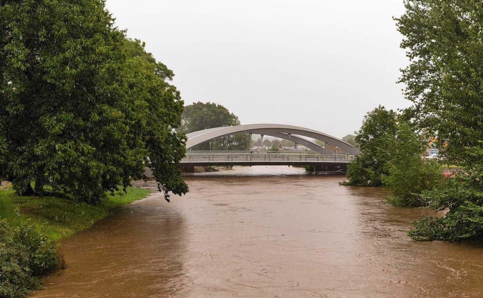 Flooding caused major problems across Moray. Pic credit: Jasper Image