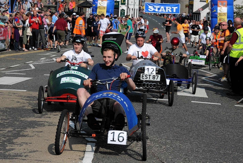 Ellon Pedal Car Race