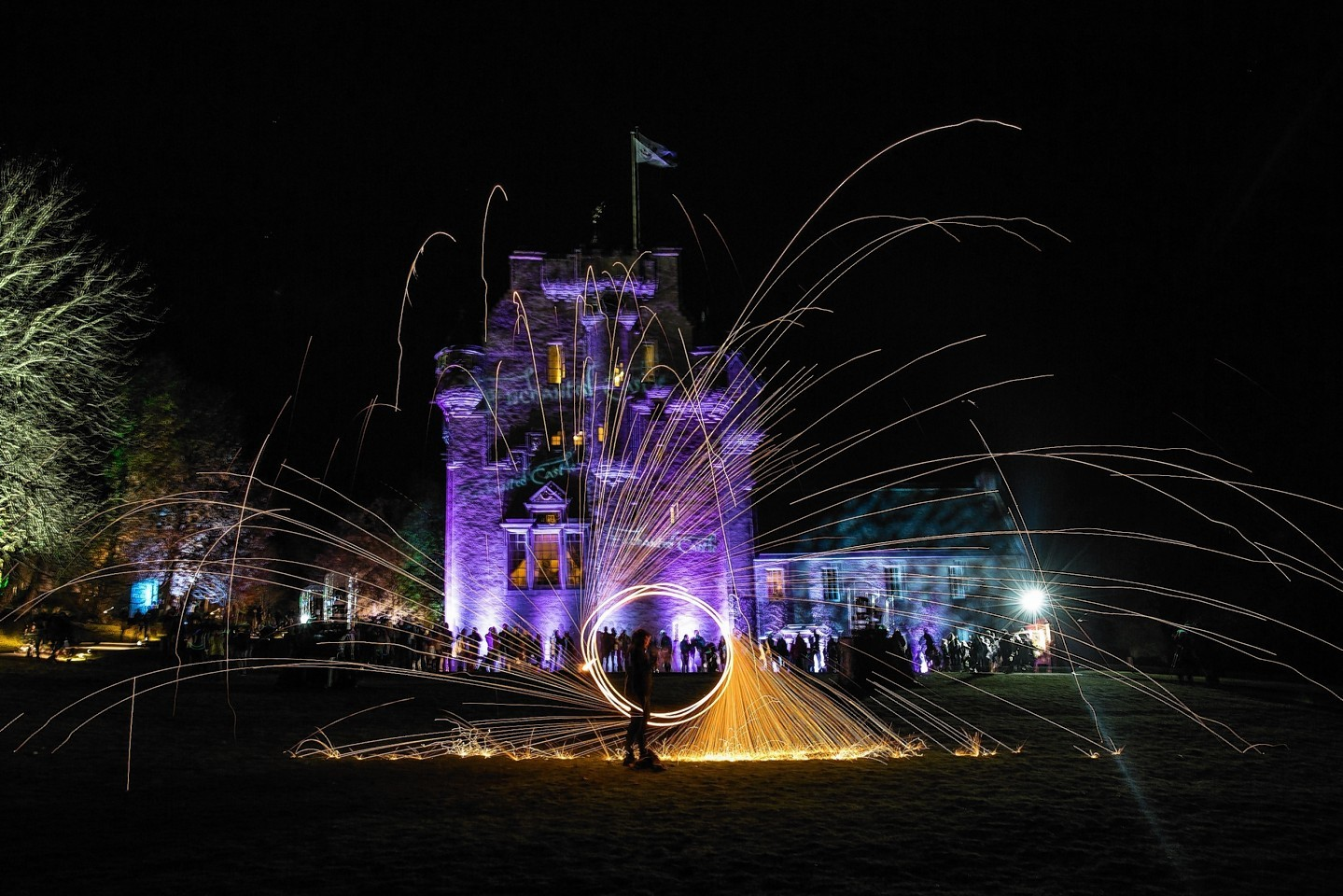 Enchanted Crathes Castle