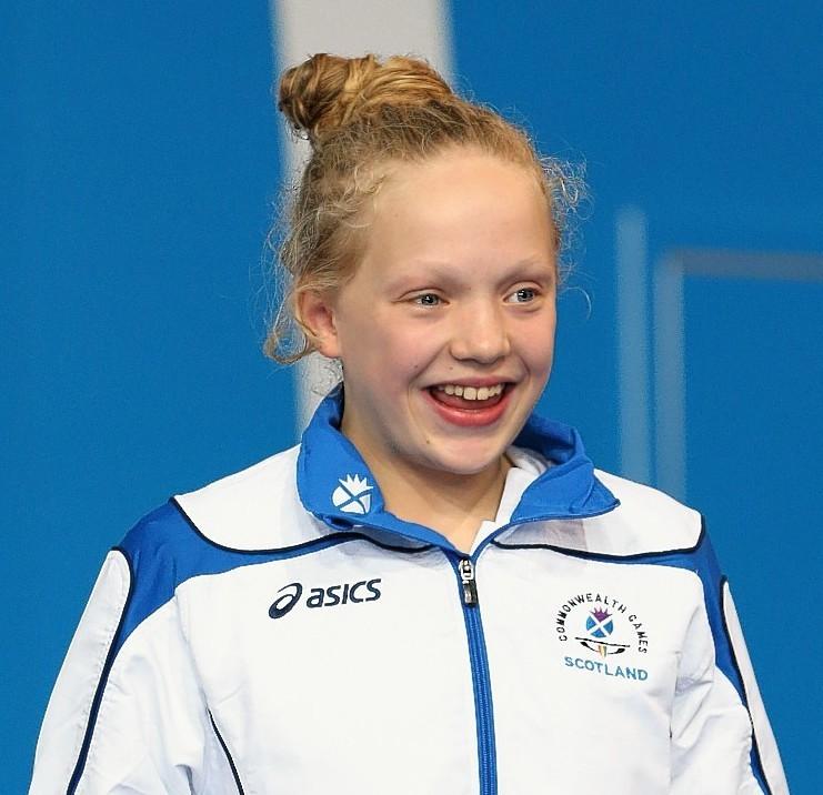 Swimmer Erraid Davies