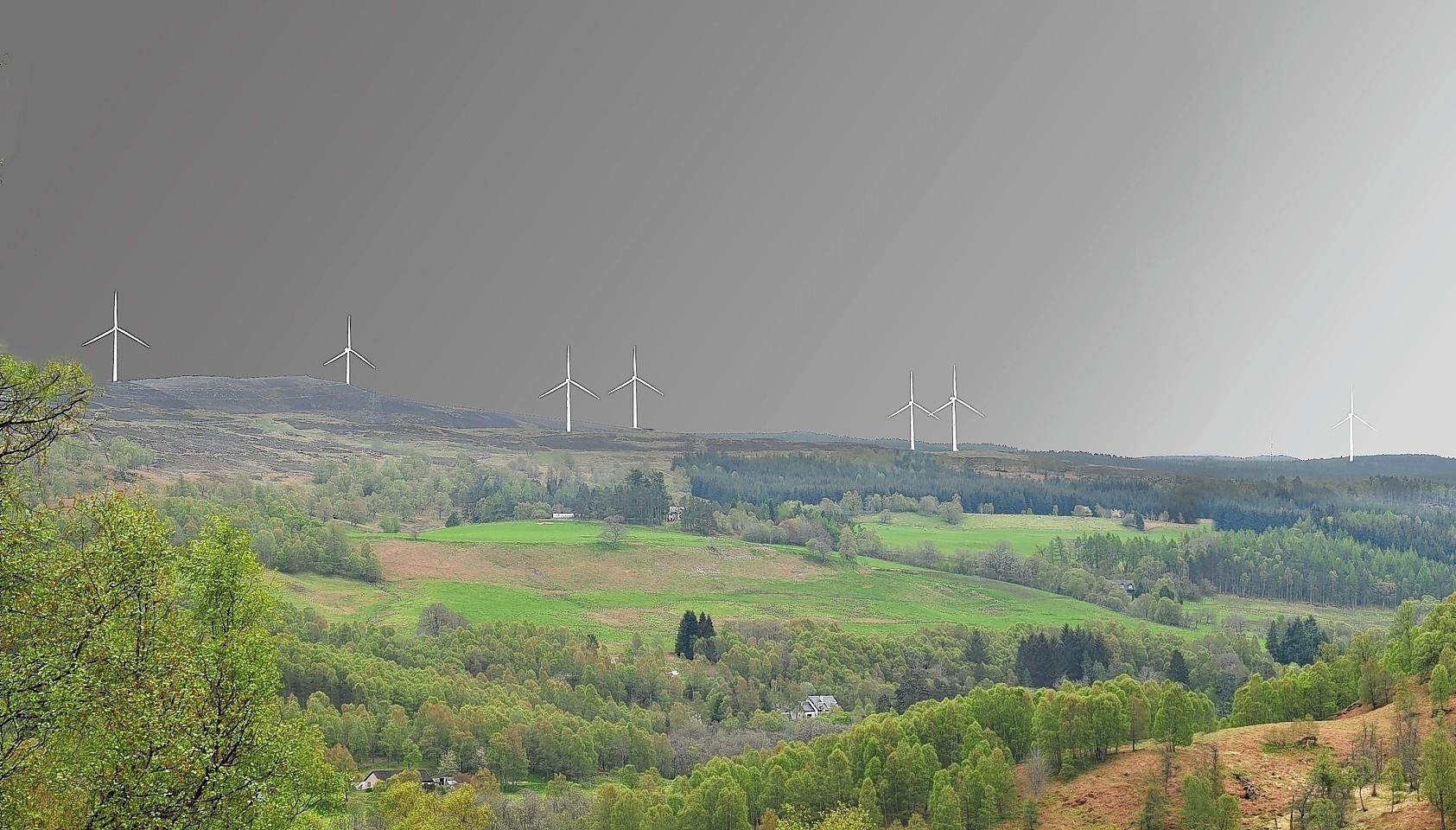 Glen Affric windfarm