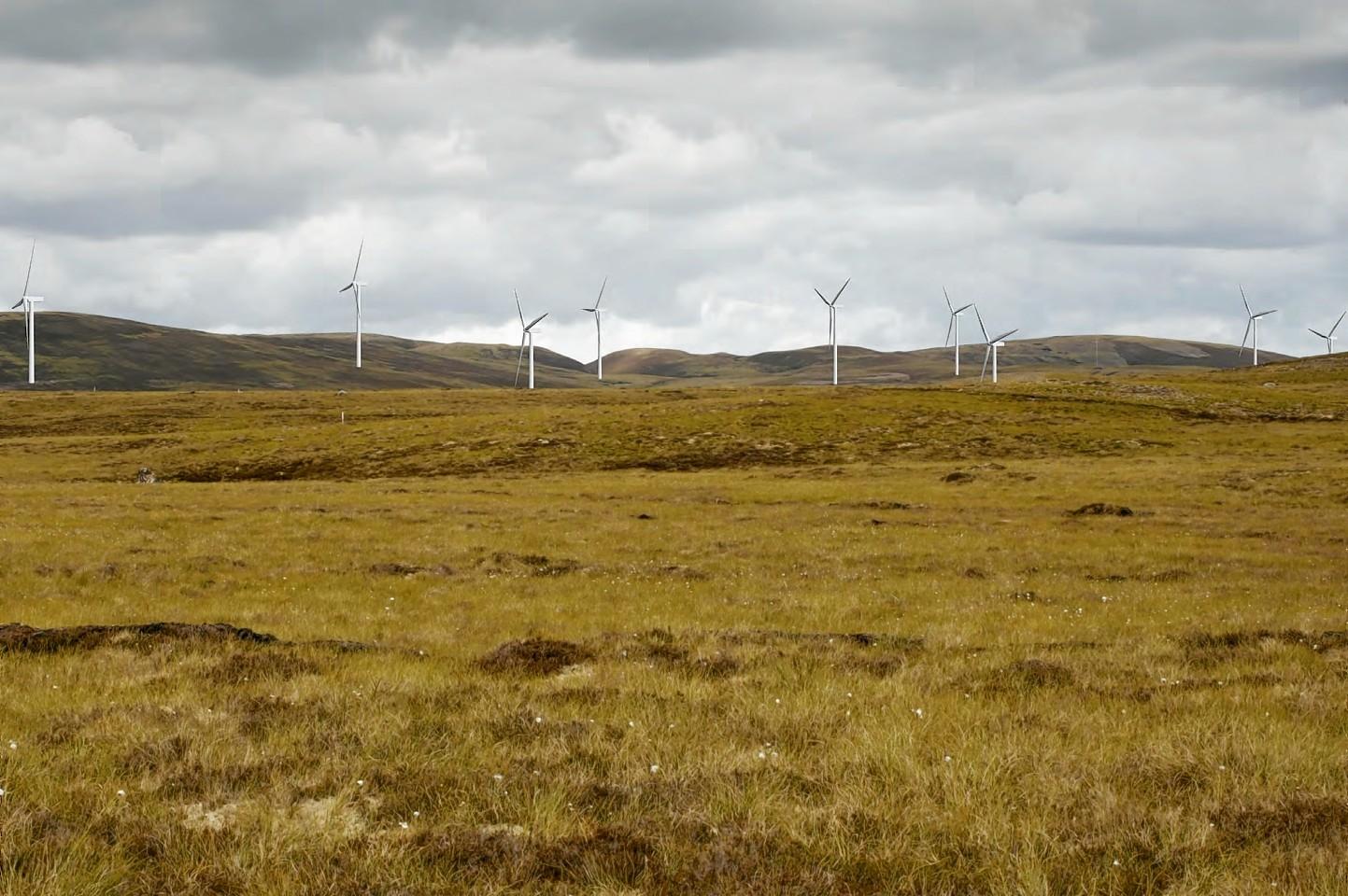 Glen Kyllachy wind farm