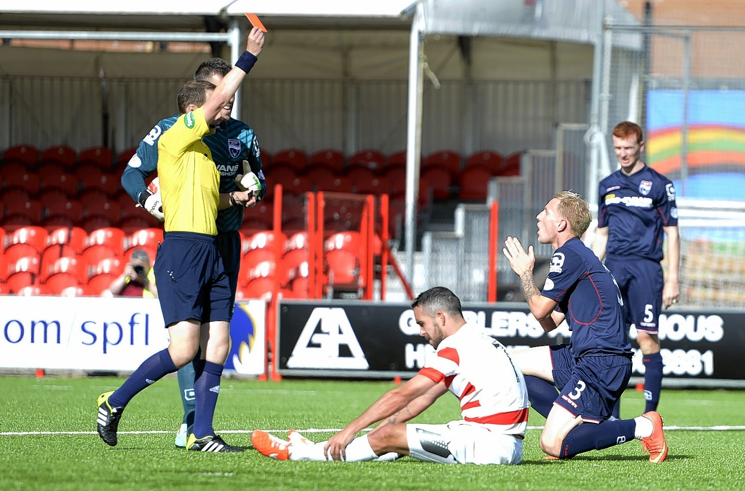 Ross County: The Staggies were defeated 4-0 by Hamilton Accies on Saturday.