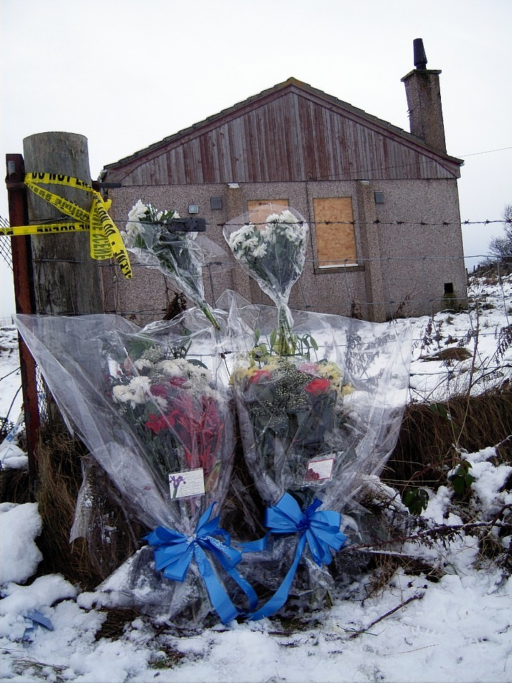 The building where Liam Aitchison was found dead is set to be demolished
