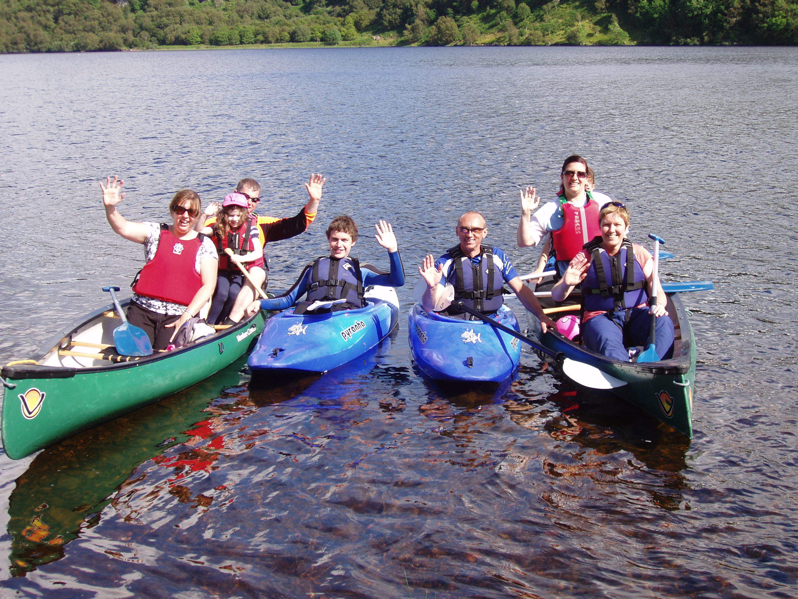 Loch Neil Canoeing. Photo courtesy and copyright of Stramash.