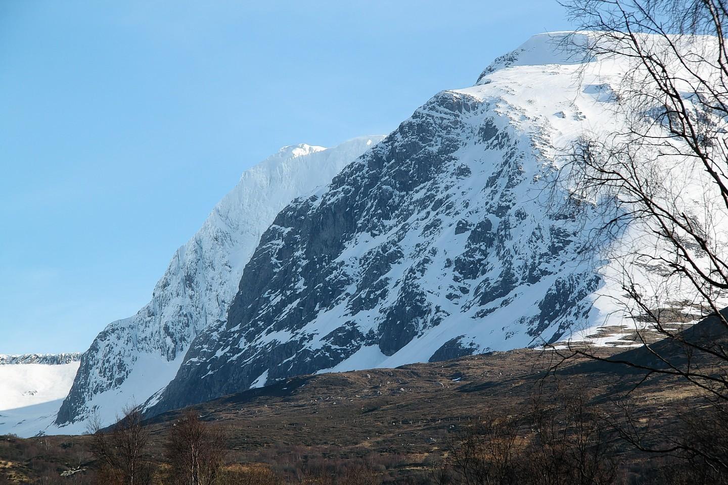 Two walkers are stuck on Ben Nevis