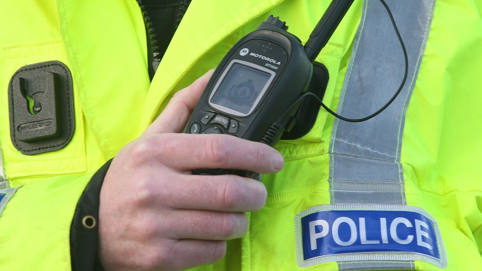 The crash happened on the A90 Aberdeen to Dundee road