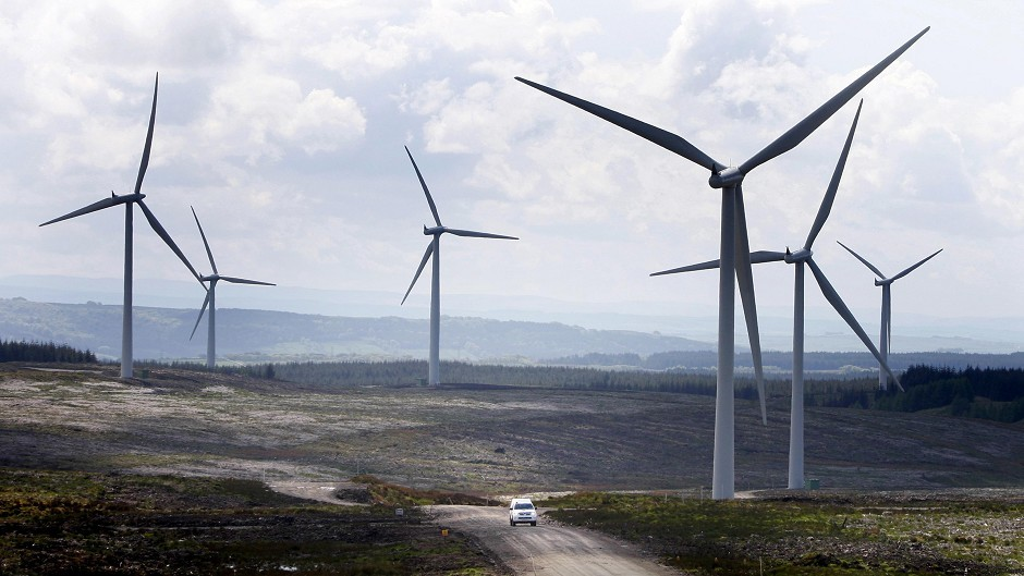 Scotland's onshore wind farms make up a substantial part of the UK's overall renewables and power requirements, a report says