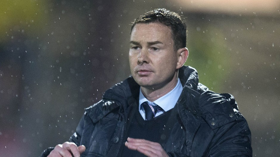 Former Ross County boss Derek Adams.