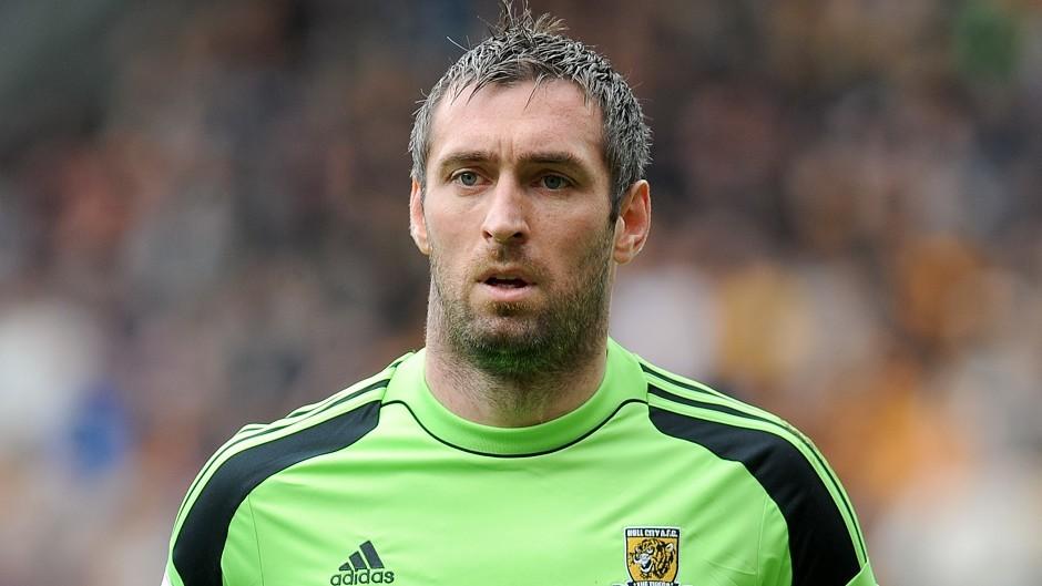 Hull goalkeeper Allan McGregor