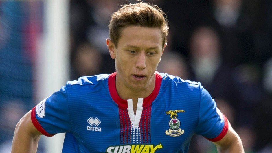 Danny Williams has helped Inverness to the top of the table
