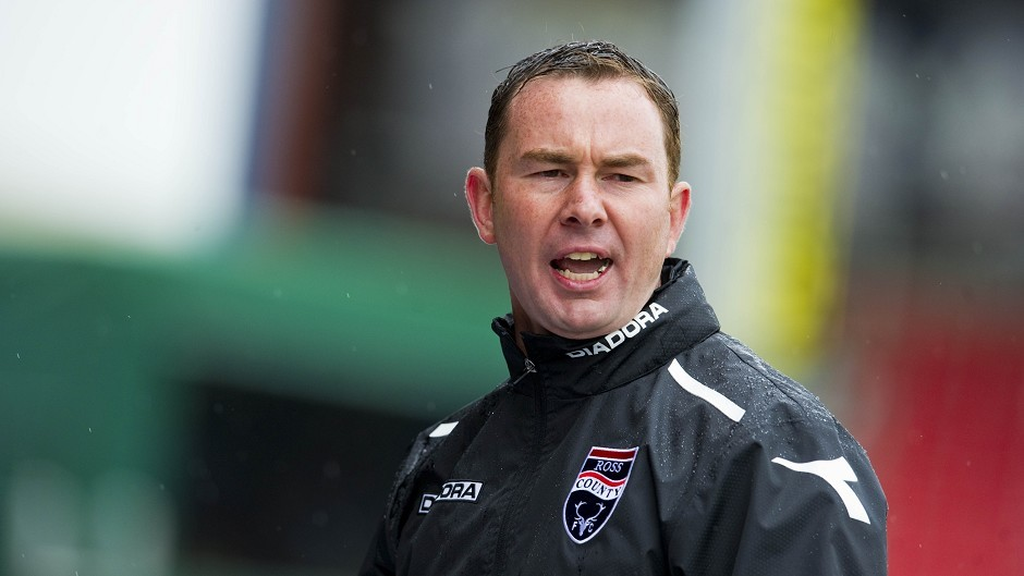 Derek Adams' Ross County side got off to a poor start this season