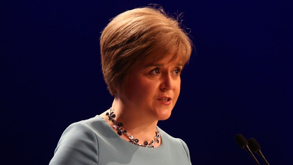 Nicola Sturgeon says independence would be an opportunity for Scotland to create a fairer welfare system